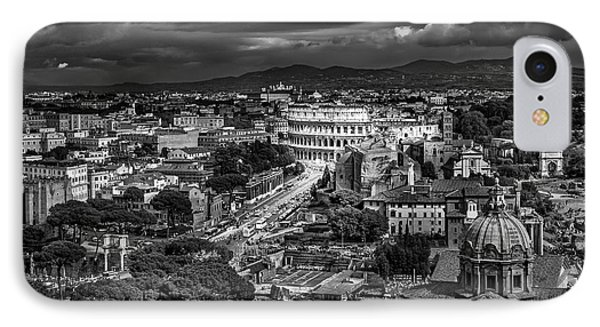 Il Colosseo IPhone Case by Sonny Marcyan
