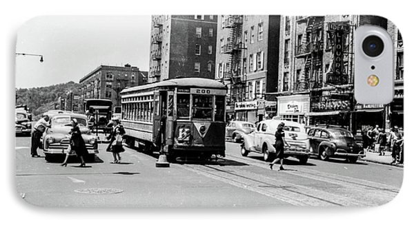IPhone Case featuring the photograph Inwood Trolley  by Cole Thompson