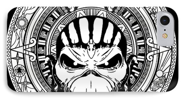 Iron Maiden IPhone Case by Caio Caldas