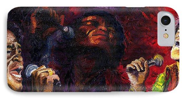 Jazz James Brown IPhone Case by Yuriy  Shevchuk