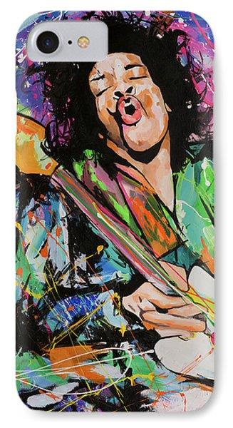 Jimi Hendrix IPhone 7 Case by Richard Day