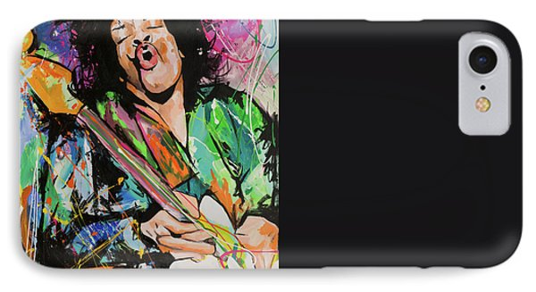 Jimi Hendrix IPhone 7 Case by Richard Day