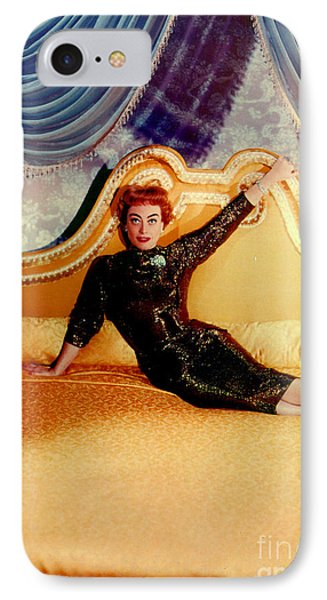 Joan Crawford (1905-1977) IPhone Case by Granger