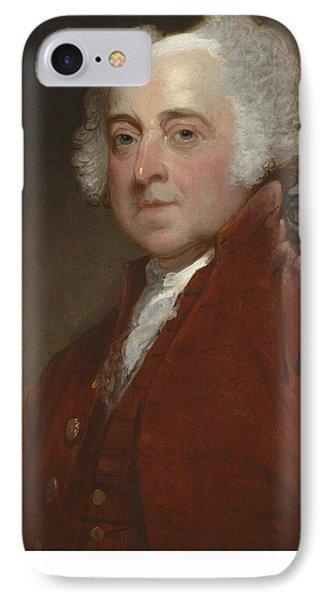John Adams IPhone Case by Gilbert Stuart