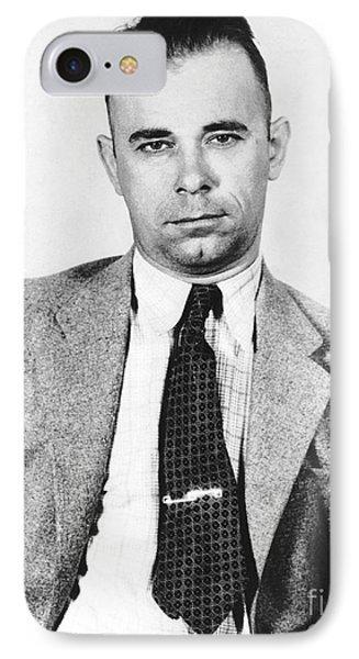 John Dillinger 1903-1934 Phone Case by Granger