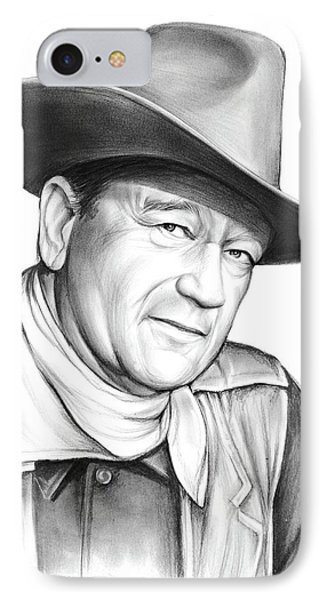 John Wayne IPhone Case by Greg Joens