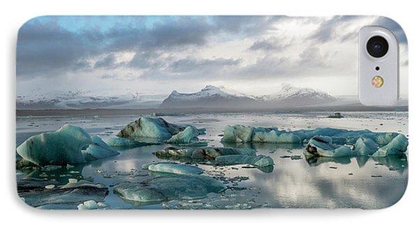 IPhone Case featuring the photograph Jokulsarlon, The Glacier Lagoon, Iceland 3 by Dubi Roman