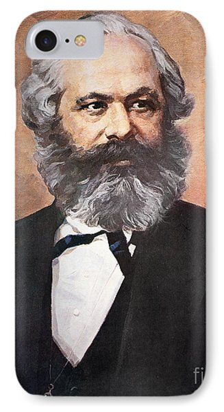 Karl Marx IPhone Case by Unknown