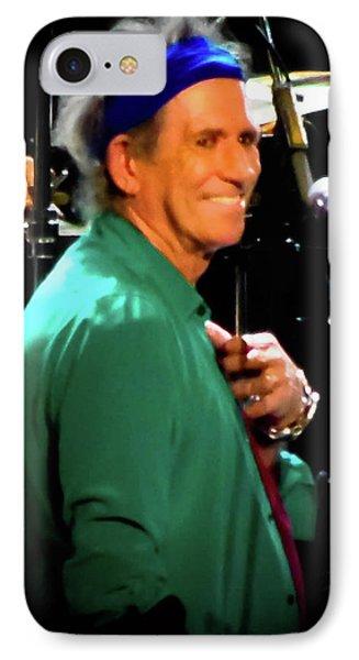 Keith Richards  IPhone Case by Luisa Gatti