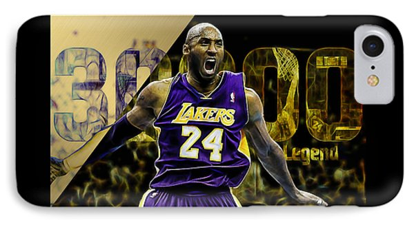 Kobe Bryant Collection IPhone Case by Marvin Blaine
