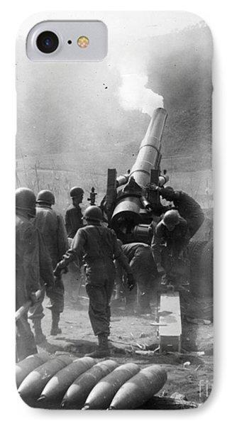 Korean War: Artillery Phone Case by Granger