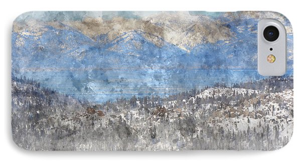 Lake Tahoe California In Winter IPhone Case by Brandon Bourdages