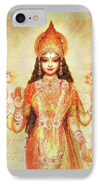 Lakshmi The Goddess Of Fortune And Abundance IPhone Case