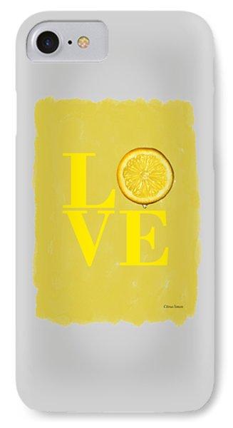 Lemon IPhone 7 Case by Mark Rogan