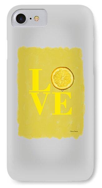 Lemon iPhone 7 Case - Lemon by Mark Rogan
