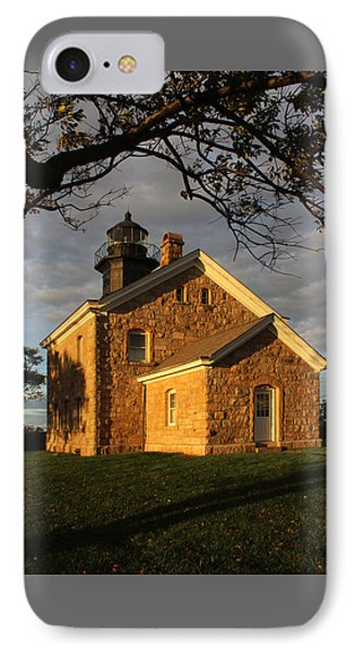 Lighthouse Old Field Point New York IPhone Case