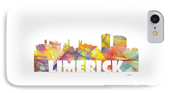 Limerick Ireland Skyline IPhone Case