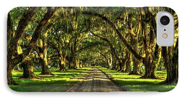 Live Oaks Of Tomotley Plantation IPhone Case by Reid Callaway
