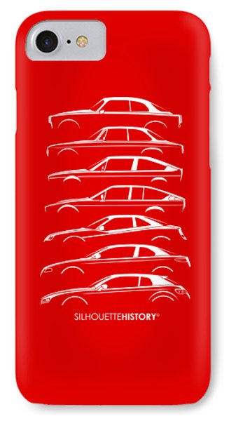 Lombard Coupe Silhouettehistory IPhone Case