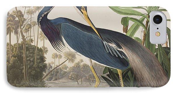 Louisiana Heron  IPhone 7 Case by John James Audubon