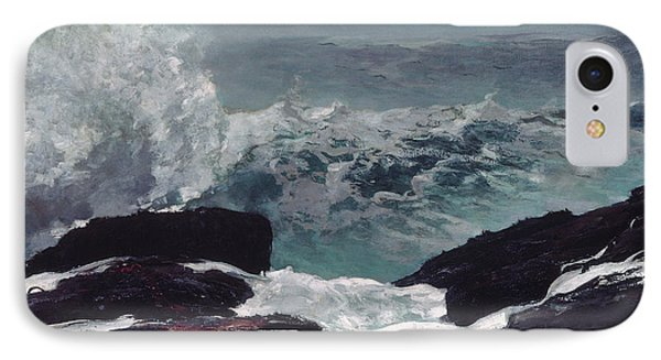 Maine Coast IPhone Case by Winslow Homer