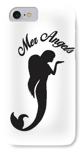 Malibu Mer Angels IPhone Case by Chrystyna Wolford