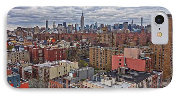 Manhattan Landscape IPhone Case by Joan Reese