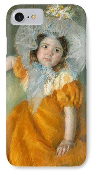 Margot In Orange Dress IPhone Case