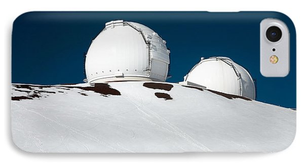 Mauna Kea Observatory Phone Case by Peter French - Printscapes