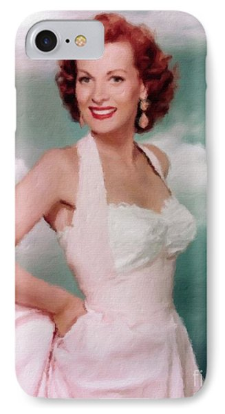 Maureen O'hara, Actress IPhone Case