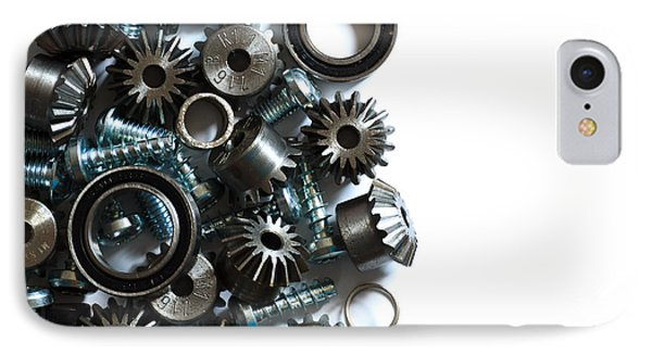 Mechanical Components IPhone Case by Davide Guidolin