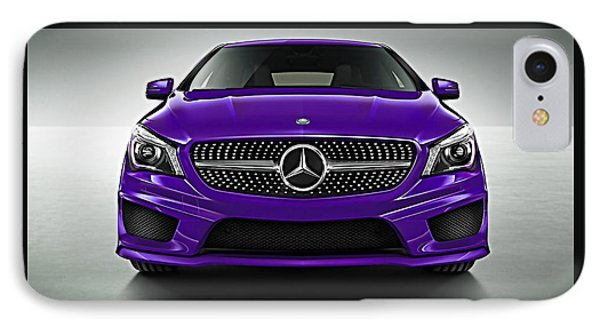 Mercedes Cla Class Coupe Collection IPhone Case