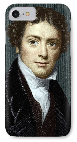 Michael Faraday, British Physicist Phone Case by Sheila Terry