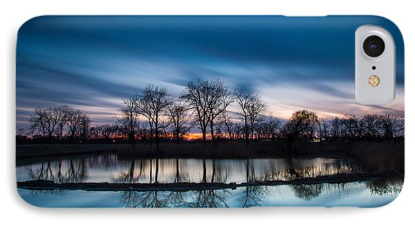 2 Minutes Of Blue Hour IPhone Case by Jackie Novak