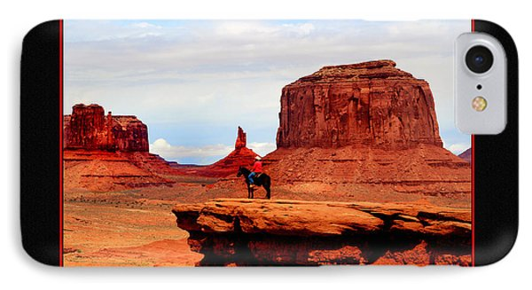 IPhone Case featuring the photograph Monument Valley II by Tom Prendergast