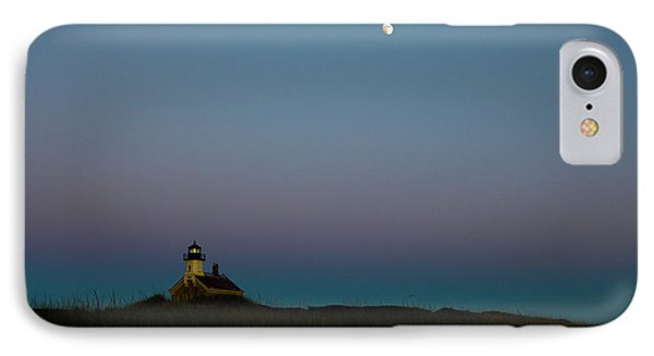 Moon Over The North Light IPhone Case