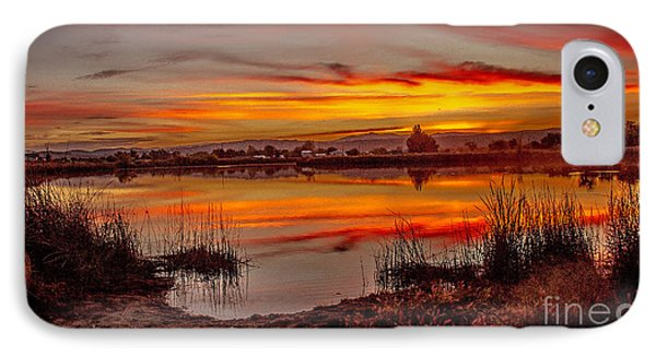 Morning Reflections IPhone Case by Robert Bales