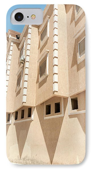 Moroccan Building IPhone Case by Tom Gowanlock