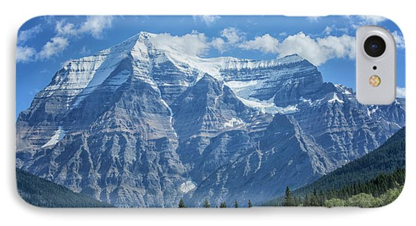 Mount Robson IPhone Case by Patricia Hofmeester