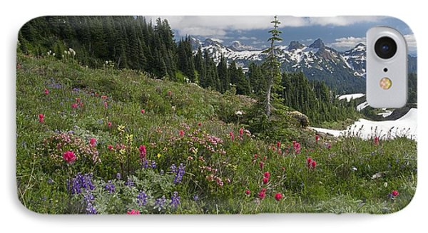 Mountain Meadow Phone Case by Bob Gibbons