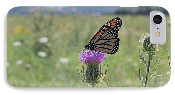 Mountain Meadow Monarch Phone Case by Randy Bodkins