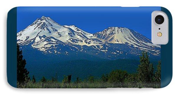 Mt. Shasta IPhone Case by Steve Warnstaff