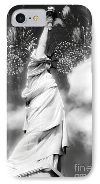 My Lady Liberty IPhone Case by Janie Johnson