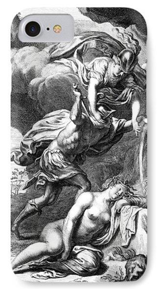 Mythology: Perseus IPhone 7 Case by Granger