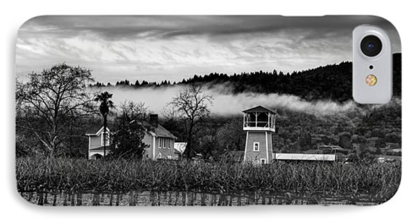 Napa Valley Vineyard On A Cloudy Day IPhone Case by Mountain Dreams