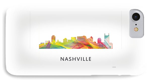 Nashville Tennessee Skyline IPhone Case