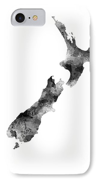 New Zealand Map IPhone Case