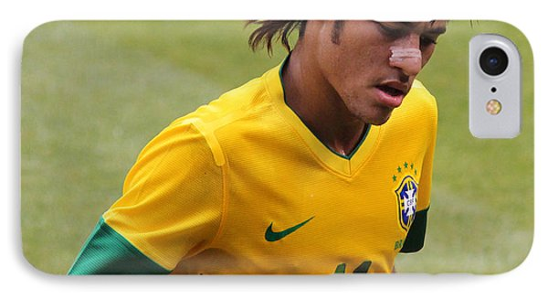 Neymar Junior Phone Case by Lee Dos Santos
