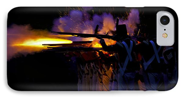 Night Battle IPhone Case by JT Lewis