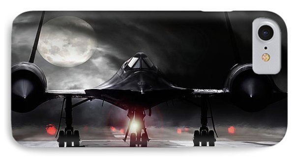 Blackbird iPhone 7 Case - Night Moves by Peter Chilelli